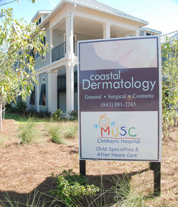 Adams Development built this Medical Building at US Hwy 17 & Hwy 41 housing Coastal Dermatology and the Medical University of South Carolina's Children's Care Clinic